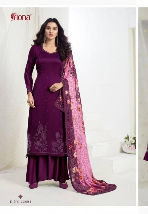 Fiona Ujjwala Vol3 22891-22894 Salwar Suit