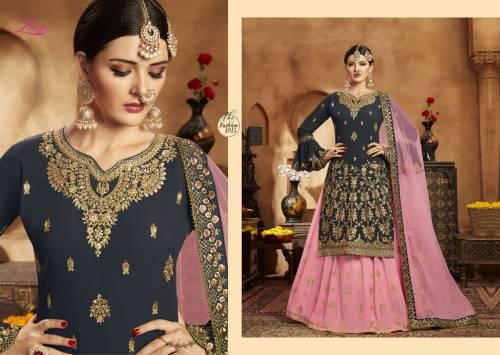 Fiona Zeeya Aaliya Vol1 1011-1014 Sharara Suit