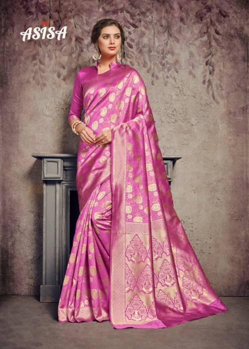 Asisa Abhilasha 5801-5806 Poly Silk Designer Saree