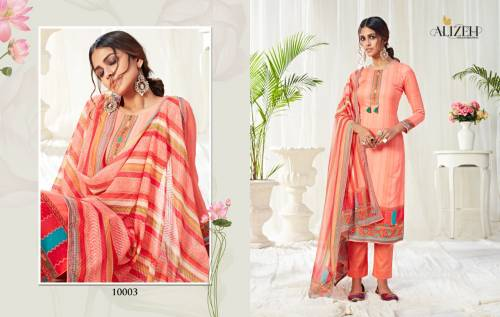 Alizeh Bliss 10003-10010 Series Suits