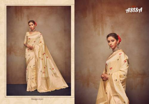 Asisa Kanchan 6301-6306 Silk Designer Saree