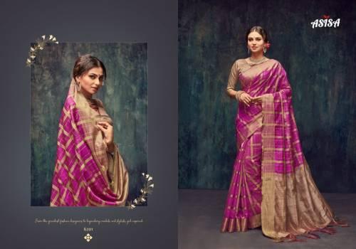 Asisa Shanaya 6201-6206 Series Silk Saree