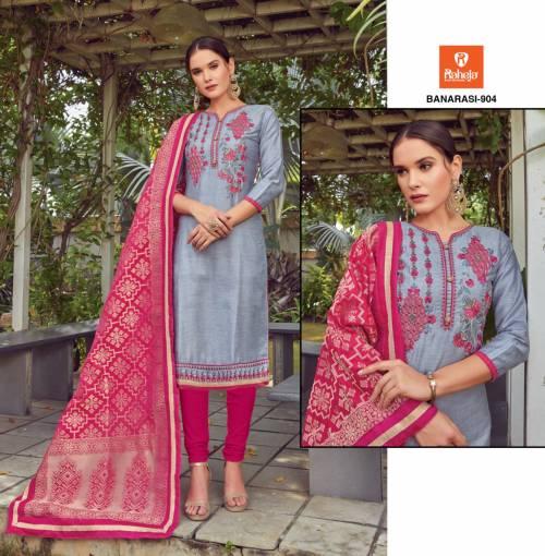 Raheja Banarasi Vol9 901-909 Straight Suit