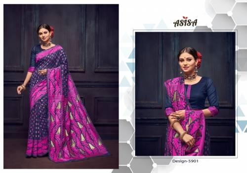 Asisa Falguni 5901-5904 Lichi Kota Designer Saree
