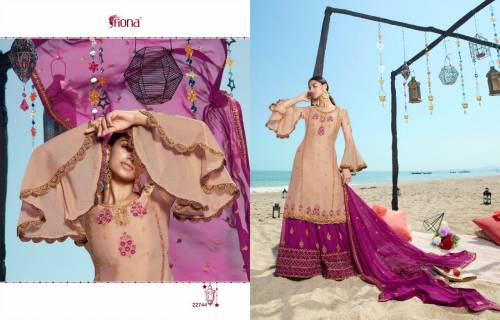 Fiona Noorie Sharara Vol11 22741-22747 Salwar Kameez