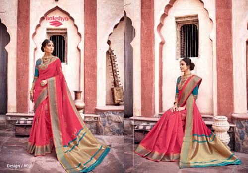 Kakshya Gitanjali 8001-8008 Series Cotton Silk Saree