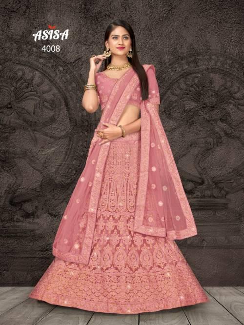 Asisa Kangana 4001-4006 Net Designer Lehenga