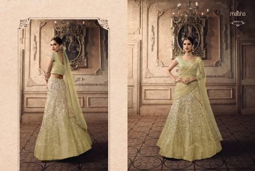Maisha Maskeen Vivaana 20001 Colors Net Choli