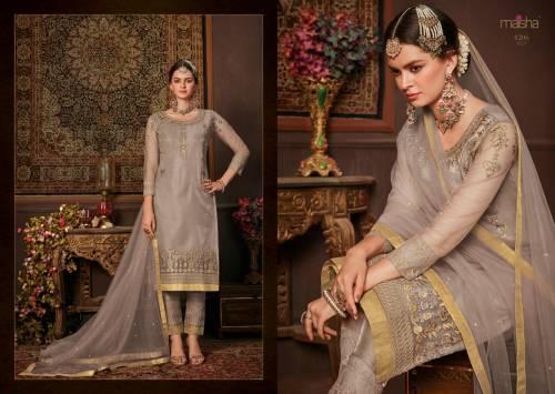 Maisha Maskeen Zara 8201-8208 Straight Salwar Kameez