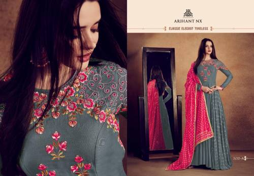 1586 Rizwana Vol-2 Without Bottom 5015-Color