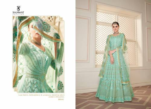 Sajawat Creation Begam Vol5 38041-38044 Anarkali