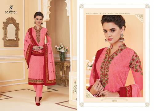 Sajawat Creation Lakhnavi Vol3 1091-1095 Salwar Kameez