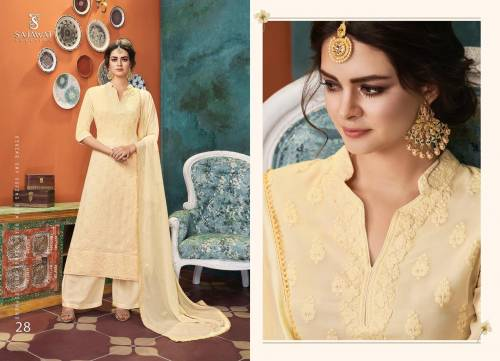 Sajawat Creation Lakhnavi Vol4 25-30 Series Salwar Suit