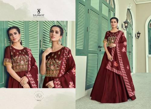 Sajawat Creation Rihanna Vol2 9011-9015 Anarkali