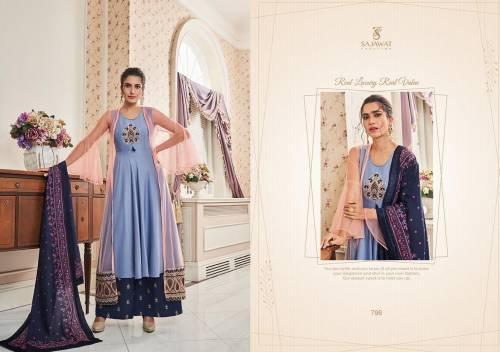 Sajawat Creation Sarthi Vol11 791-796 Plazzo Suits