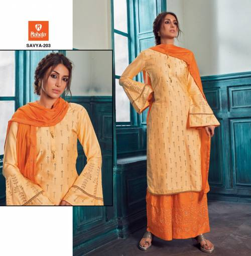 Raheja Savya Vol2 201-209 Jaam Satin Satright Suit