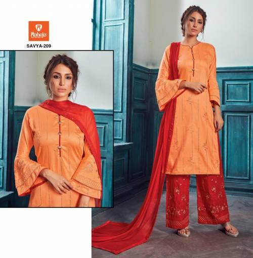 Raheja Savya Vol2 201-209 Jaam Satin Satright Suit