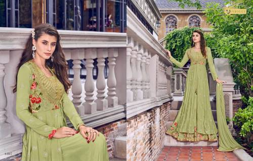 Swagat Violet Snow White Vol14 6401-6409 Salwar Suits
