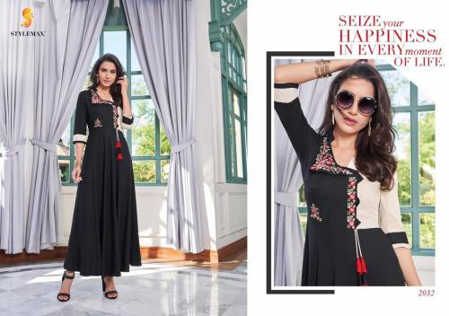Stylemax Taniya Vol1 2031-2036 Series Kurtis