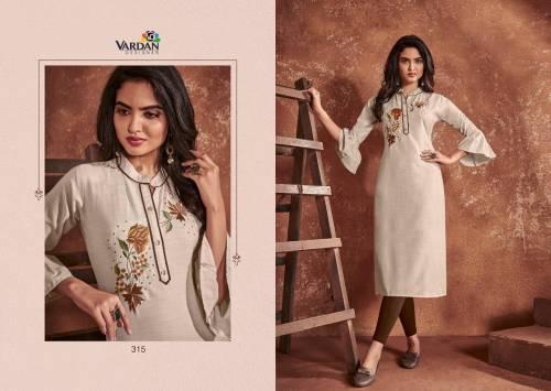 Vardan Designer Cloud Vol1 311-315 Series Kurtis