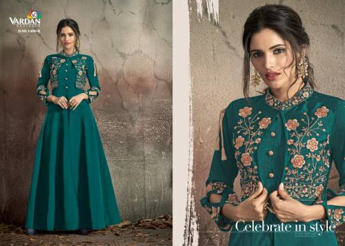 Vardan Designer Navya Gold 14 1406 Colors Gown