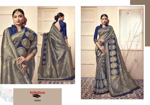 Kakshya Diva 6001-6006 Series Lichi Kota Silk Saree