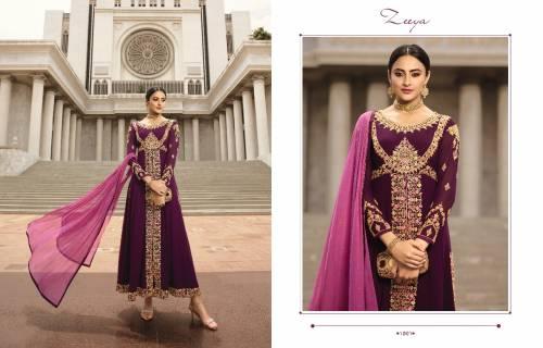 Fiona Zeeya Aasma Vol1 1001-1004 Anarkali Salwar Suit