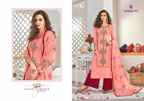 Arihant Designer Vamika Anaya 6001-6006 Kurtis