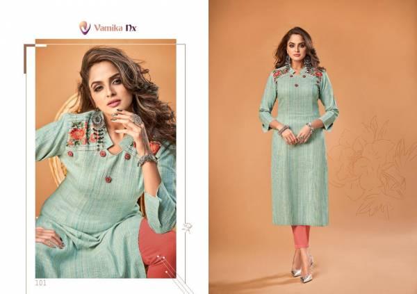 Arihant Designer Vamika Rosy 101-106 Series Kurtis