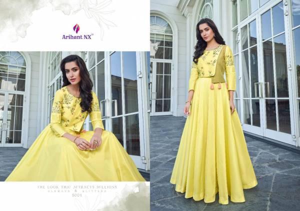 Arihant Designer Vamika Simran 5001-5008 Kurtis