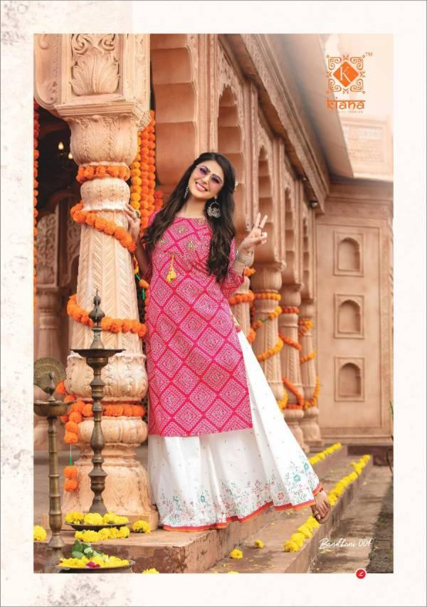 Kiana Bandhani 001-002 Party Wear Sharara