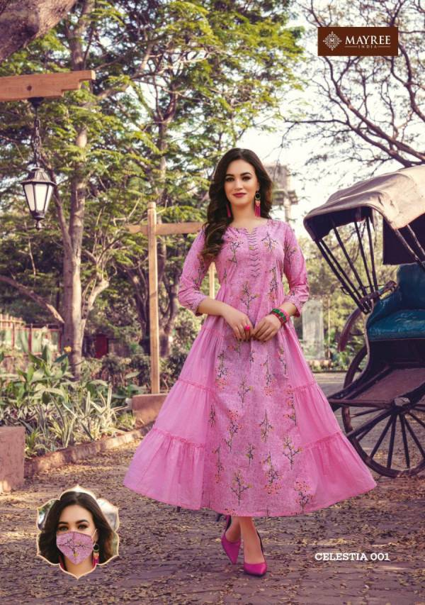 Mayree India Celestia 001-008 Cotton Designer Kurti