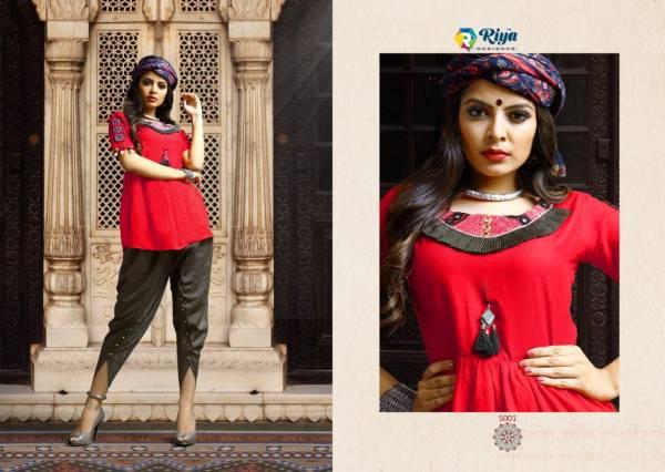 Riya Designer Dholida 5001-5005 Kedia Collection