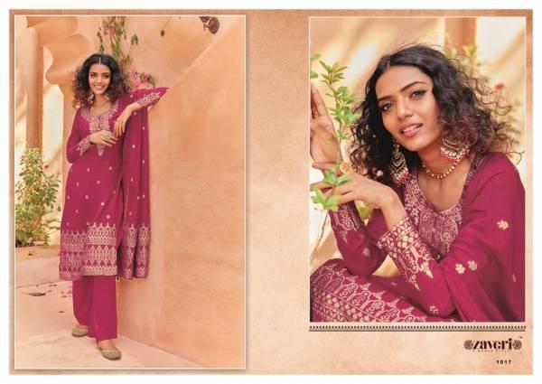 Eba Lifestyle Zaveri Zeenath 1017-1022 Series