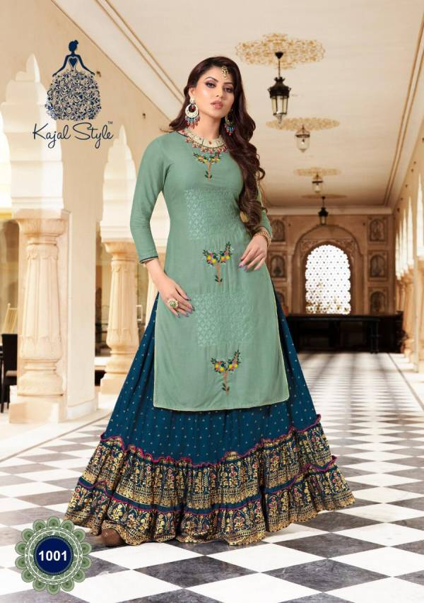 Kajal Style Fashion Holic Vol1 1001-1008 Fancy Kurtis