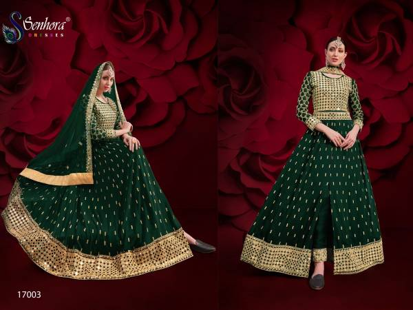 SN Agha Noor 17003 Colors Dress