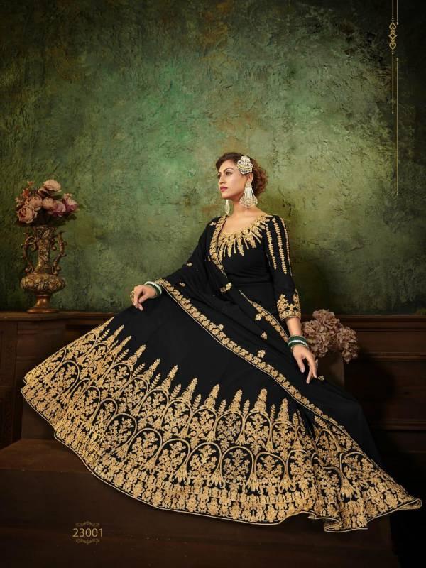 SN Vol23 Zarin 23001-23004 Series Anarkali Dress