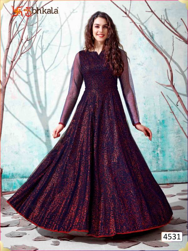 Khushboo Flory Vol13 4531-4538 Series Gown