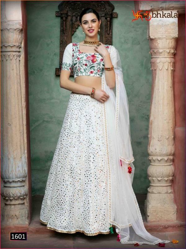 Khushboo Bridesmaid Vol10 1601-1605 Series Lehengas
