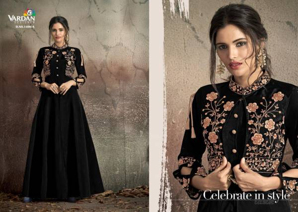 Vardan Designer Navya Gold 14 1406 Colors Gown